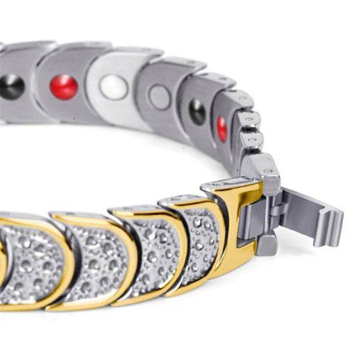 دستبند مغناطیسی تیتانیوم بایواکسل راند