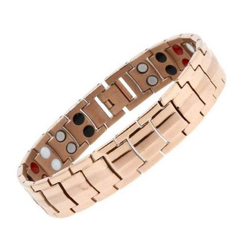 دستبند مغناطیسی بایواکسل رزگلد